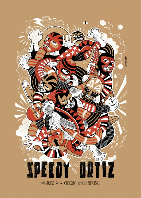 Speedy Ortiz Gig Poster