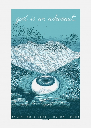 God Is An Astronaut Gig Poster