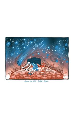 Stars Gig Poster