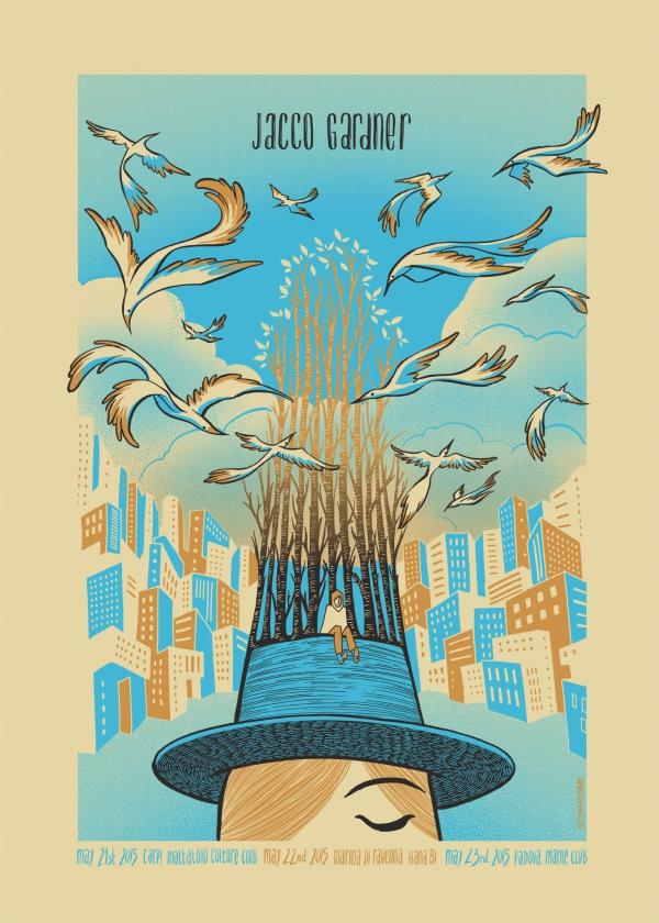 Jacco Gardner Gig Poster