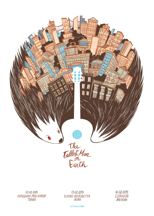 The Tallest Man On Earth Gig Poster