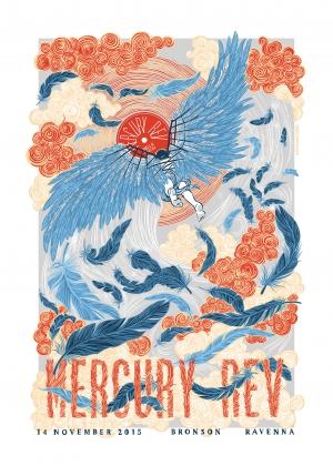 Mercury Rev Gig Poster