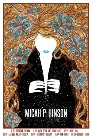 Micah P. Hinson Gig Poster