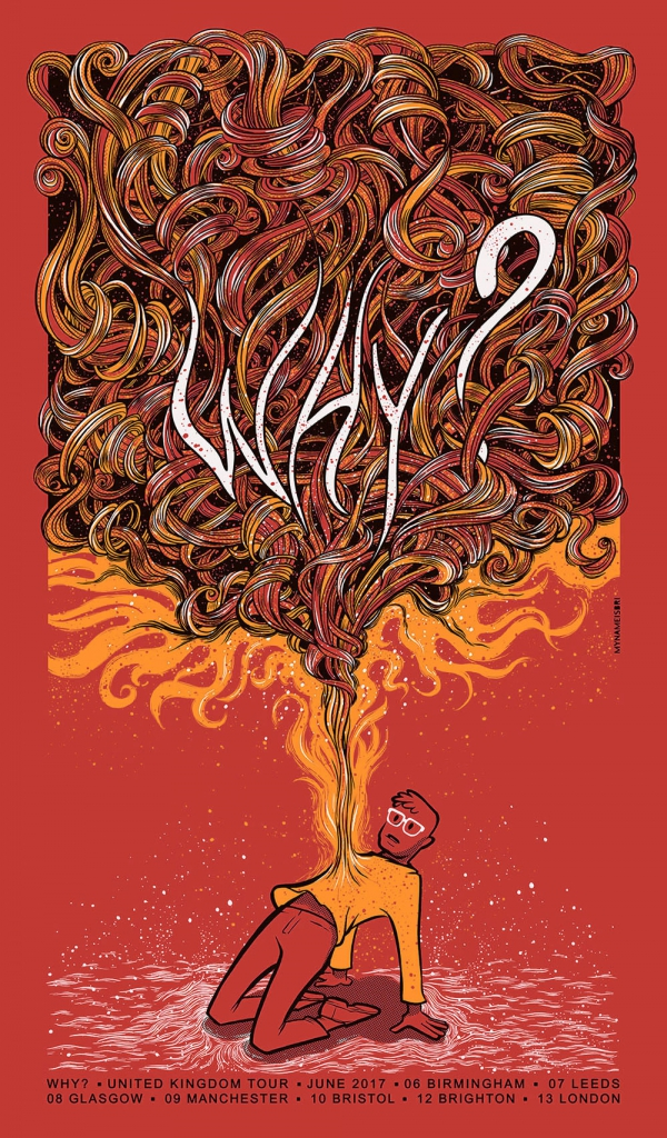 WHY? Gig Poster