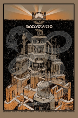Motorpsycho Set Gig Poster