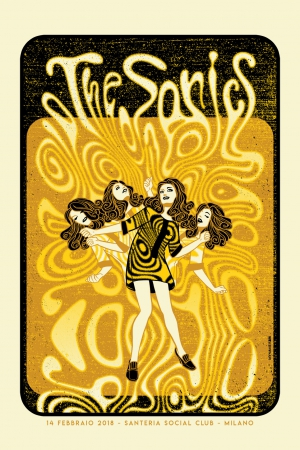 The Sonics Gig Poster