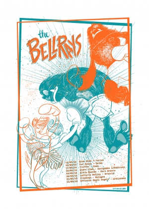 The Bellrays Gig Poster