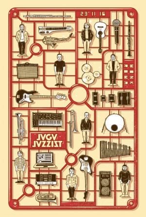 Jaga Jazzist Gig Poster