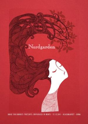 Nordgarden Gig Poster