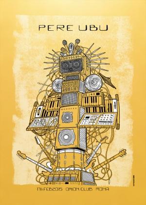 Pere Ubu Gig Poster