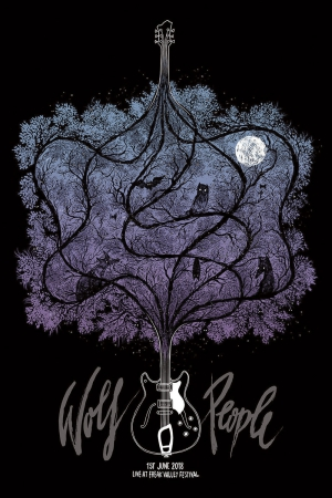 Wolf People Gig Poster