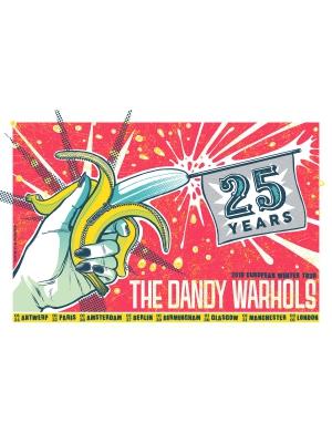 Dandy Warhols Gig Poster