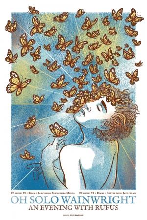 Rufus Wainwright Gig Poster