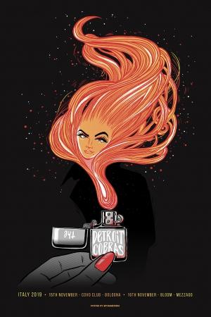 Detroit Cobras Gig Poster