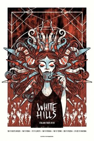 White Hills Gig Poster