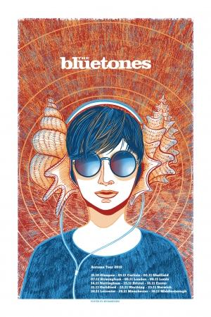 The Bluetones Gig Poster