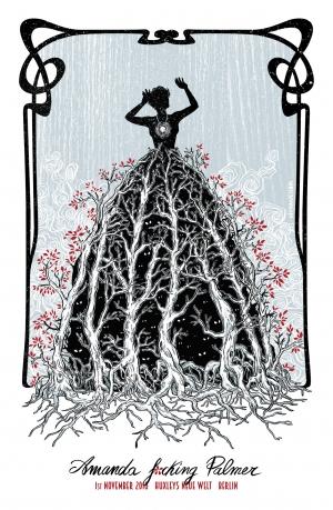 Amanda Palmer Gig Poster