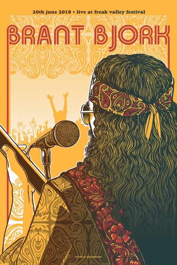 Brant Bjork Gig Poster