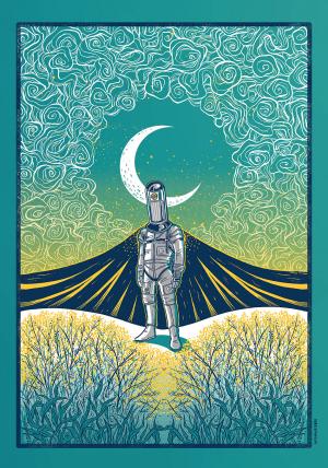 Zanne Festival Art Print